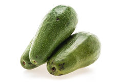 绿色新鲜的鲕梨 库存图片