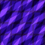 紫色方形的抽象样式 免版税库存图片