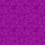 紫色无缝的混乱样式背景 向量例证