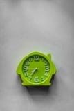 绿色时钟 库存照片