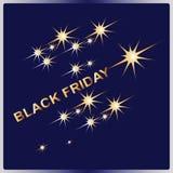 黑色星期五 设计广告横幅 库存照片