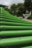 绿色木材条板 免版税库存图片