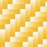 黄色木条地板背景 向量例证