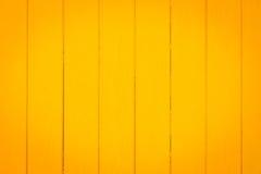 黄色木板条作为背景 免版税库存照片