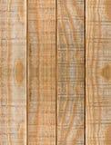 黄色板条木纹理背景 免版税库存图片