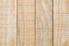 黄色板条木头纹理 免版税库存图片