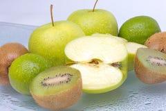 绿色果子 免版税库存照片