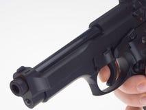 黑色枪现有量 图库摄影