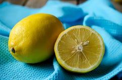 黄色柠檬 库存照片