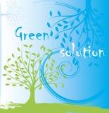 绿色树 免版税库存照片