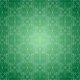 绿色样式墙纸 免版税库存照片