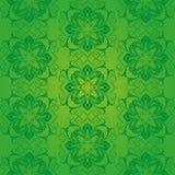 绿色样式巴落克式样 库存图片