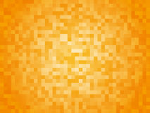 黄色格子花呢披肩背景 库存照片