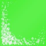 绿色框架。 图库摄影