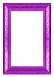 紫色框架 图库摄影