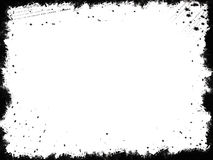 黑色框架grunge 库存照片