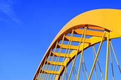 黄色桥梁 库存照片