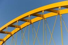 黄色桥梁 免版税图库摄影