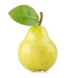 绿色梨 免版税库存图片