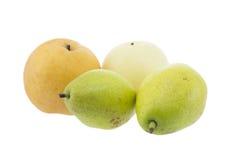 绿色梨 免版税图库摄影