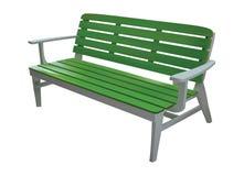 绿色椅子 向量例证