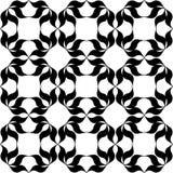黑色模式白色 库存照片