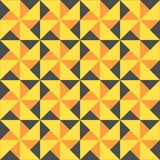 黄色模式 免版税库存图片