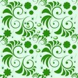 绿色模式 免版税库存图片