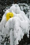 黄色气球 免版税图库摄影