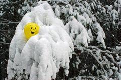 黄色气球 免版税库存图片