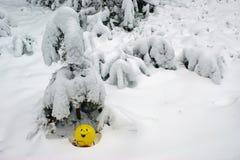 黄色气球 免版税库存照片