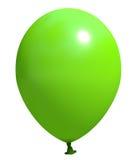 绿色气球 库存照片