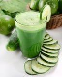 绿色汁液 库存图片