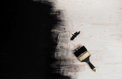 黑色油漆 免版税库存图片