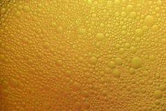 黄色泡影抽象背景  库存图片