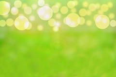 绿色泡影 免版税图库摄影