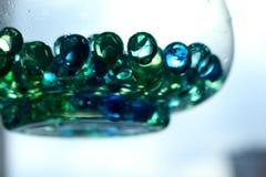 绿色泡影2 库存图片