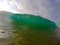 绿色波浪 图库摄影