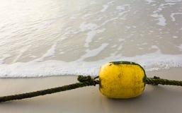 黄色浮体 库存照片