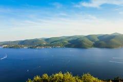 绿色海岛 免版税库存照片