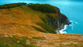 黄色海角 库存图片