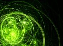 绿色混乱 库存照片
