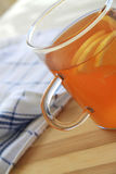 绿色清凉茶 库存图片