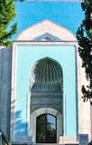 绿色清真寺在伯萨 库存照片