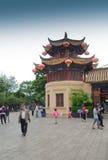 绿色湖公园在昆明,中国 免版税库存图片
