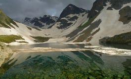 绿色湖 免版税库存照片