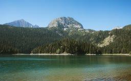 黑色湖 免版税库存图片