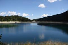 黑色湖 免版税图库摄影