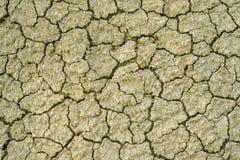 黄色漠土表面 库存图片