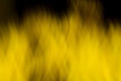 黄色火 库存图片